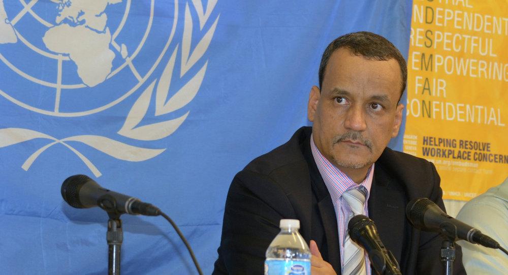 المبعوث الأممي لليمن إسماعيل ولد الشيخ أحمد