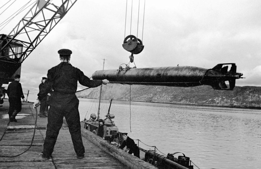 بحارة الأسطول الشمالي أثناء الحرب الوطنية العظمى