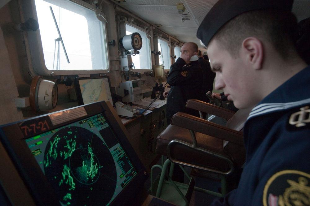 أحد بحاري السفينة المضادة للغواصات الفريق كولاكوف