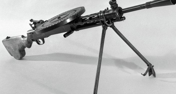 مدفع رشاش يعود إلى عام 1927