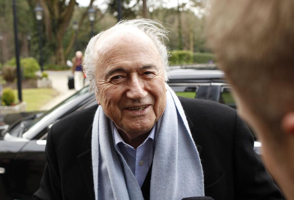 جوزيف بلاتر - رئيس الاتحاد الدولي لكرة القدم الفيفا