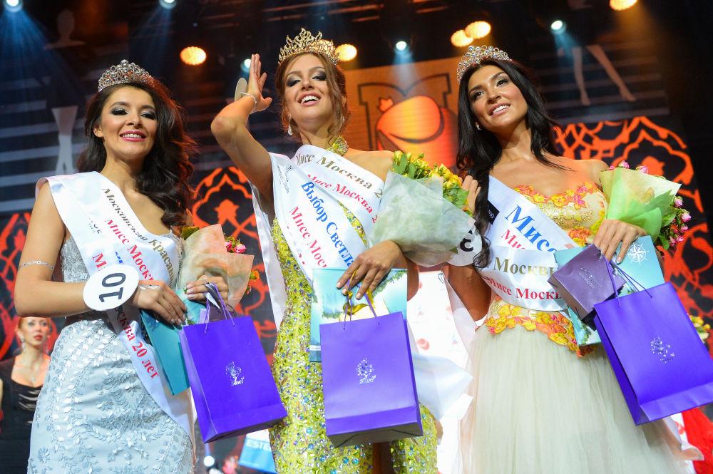الفائزات في مسابقة ملكة جمال موسكو 2015