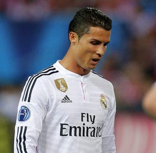 لاعب كرة القدم البرتغالي كريستيانو رونالدو