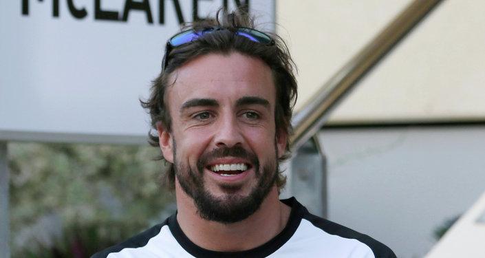الإسباني فرناندو ألونسو، سائق فريق ماكلارن- هوندا