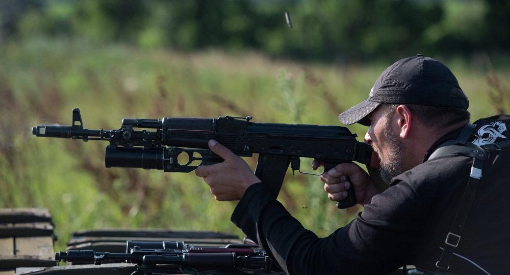 مقاتل من كتيبة روس