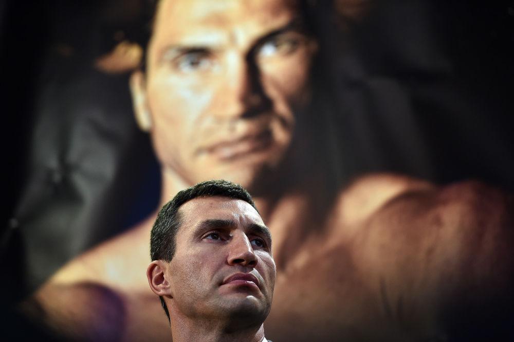 الملاكم الاوكراني فلاديمير كليتشكو