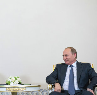 فلاديمير بوتين والأمير محمد بن سلمان
