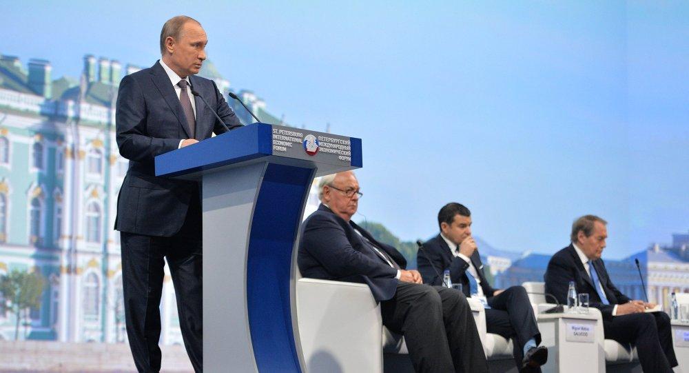 زيارة بوتين لسان بطرسبورغ