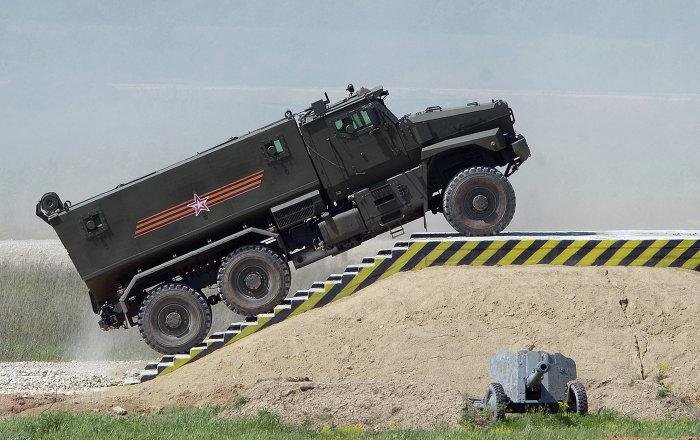 مدرعات يحصل عليها الجيش الروسي في هذا العام