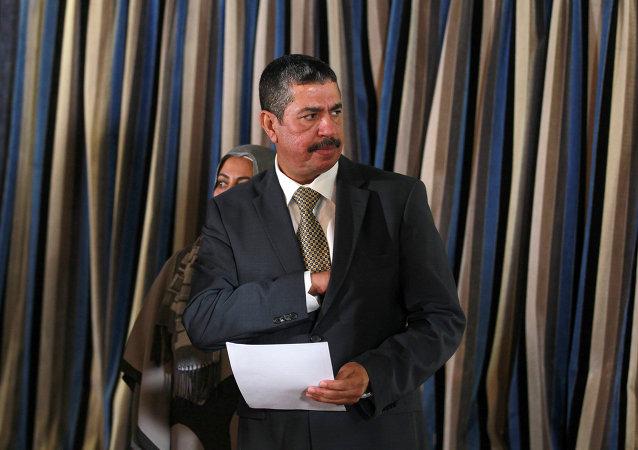 نائب الرئيس اليمني خالد بحاح