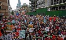 مظاهرة في لندن