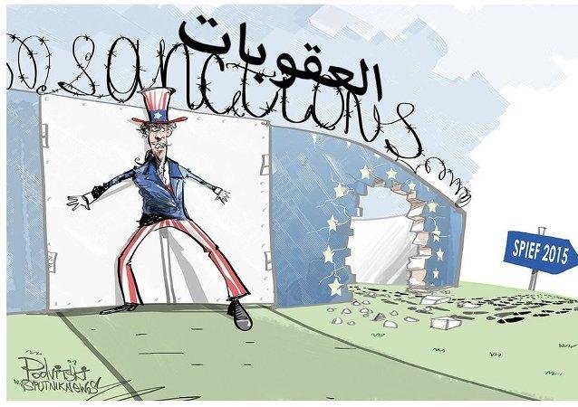 العقوبات الغربية