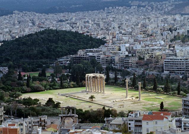العاصمة اليونانية أثينا
