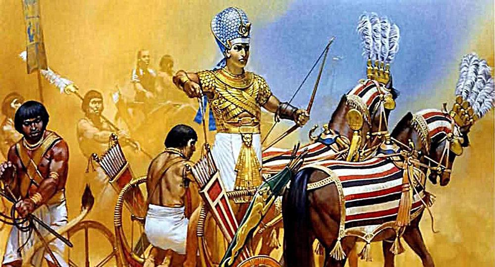 الأسلحة الخيالية للمصريين القدماء