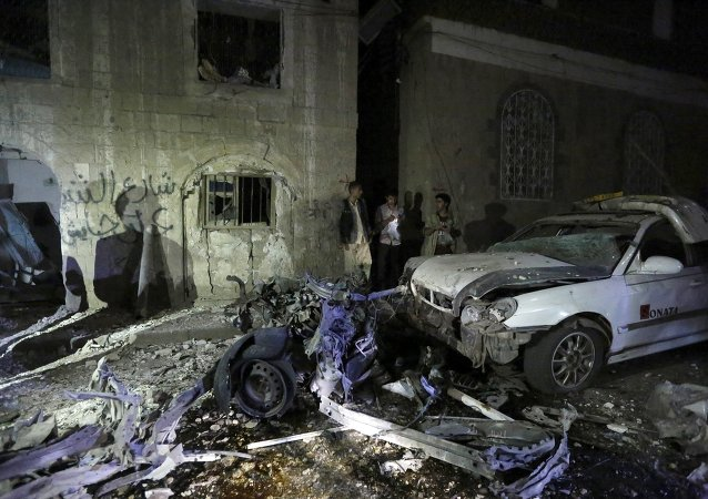انفجار سيارة ملغومة بصنعاء