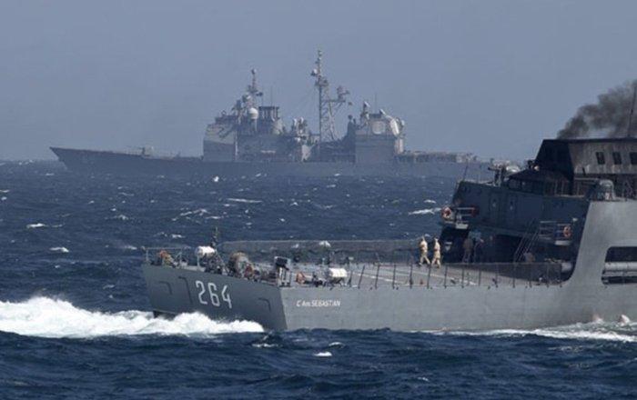 السفن الأولى تدخل سان بطرسبورغ للمشاركة في العرض البحري…فيديو