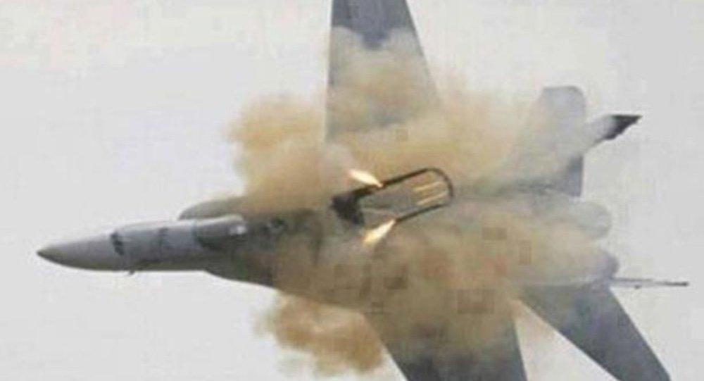 مقاتلة اف-16 تصطدم بطائرة مدنية في كارولينا الجنوبية