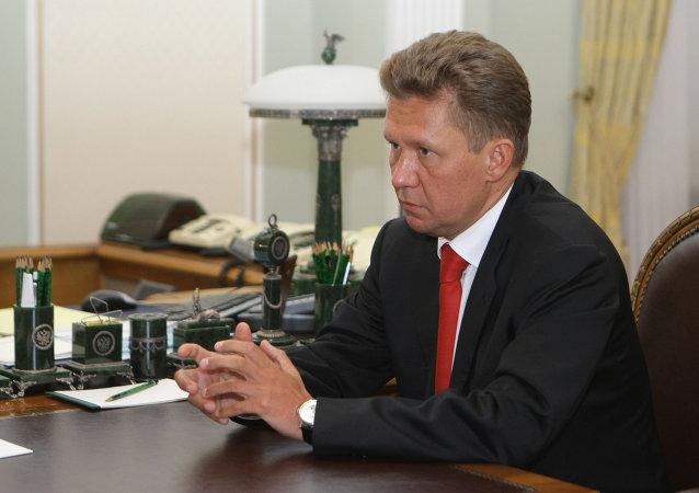 رئيس شركة غازبروم الروسية أليكسي ميلر