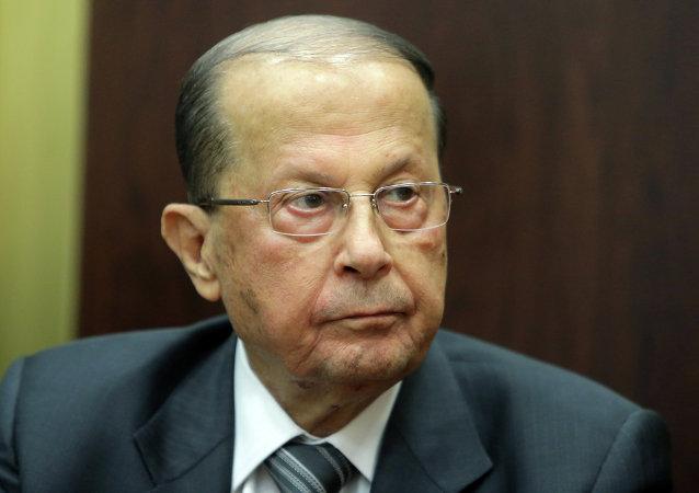 ميشال عون، عسكري وسياسي لبناني ورئيس التيار الوطني الحر.