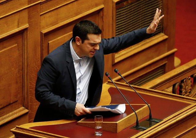 رئيس الوزراء اليوناني اليكسيس تسيبراس