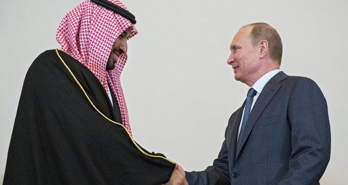 الرئيس بوتين يلتقي ولي ولي العهد السعودي الأمير محمد بن سلمان