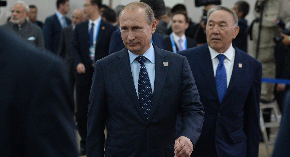 بوتين في اجتماع قمة منظمة شنغهاي للتعاون في أوفا