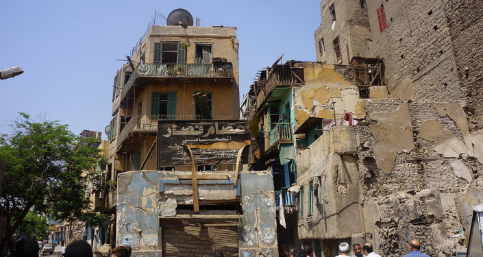 أثار تفجير القنصلية الإيطالية على المنازل المجاورة