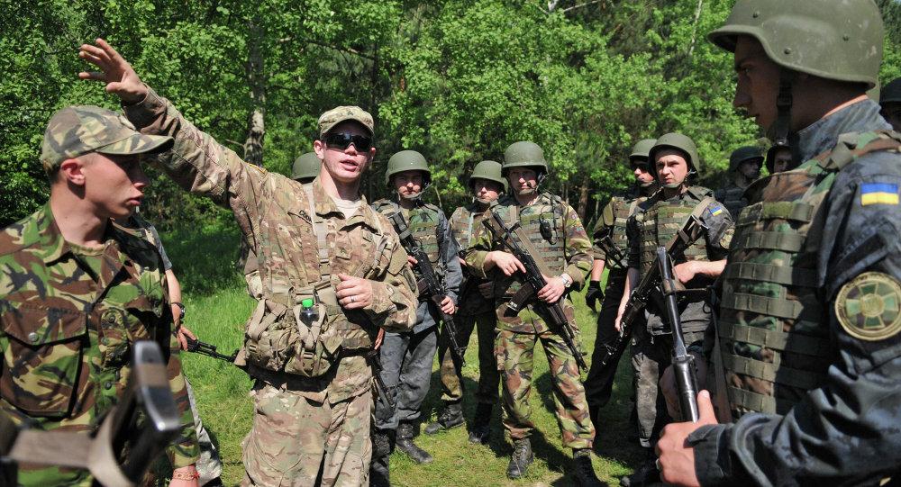 مناورات عسكرية مشتركة بين أوكرانيا والولايات المتحدة