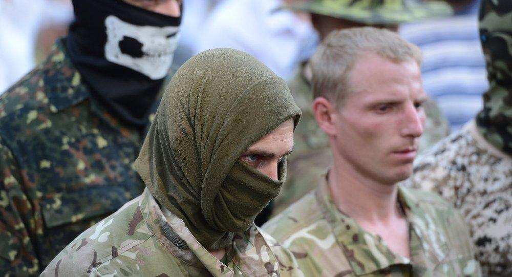 إحدى كتائب الحرس الوطني الأوكراني