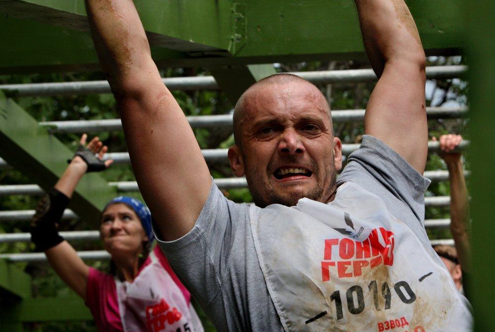 سباق الأبطال يعتمد على القوة البدنية والعضلية الضخمة