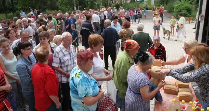 مشاكل إنسانية في دونباس