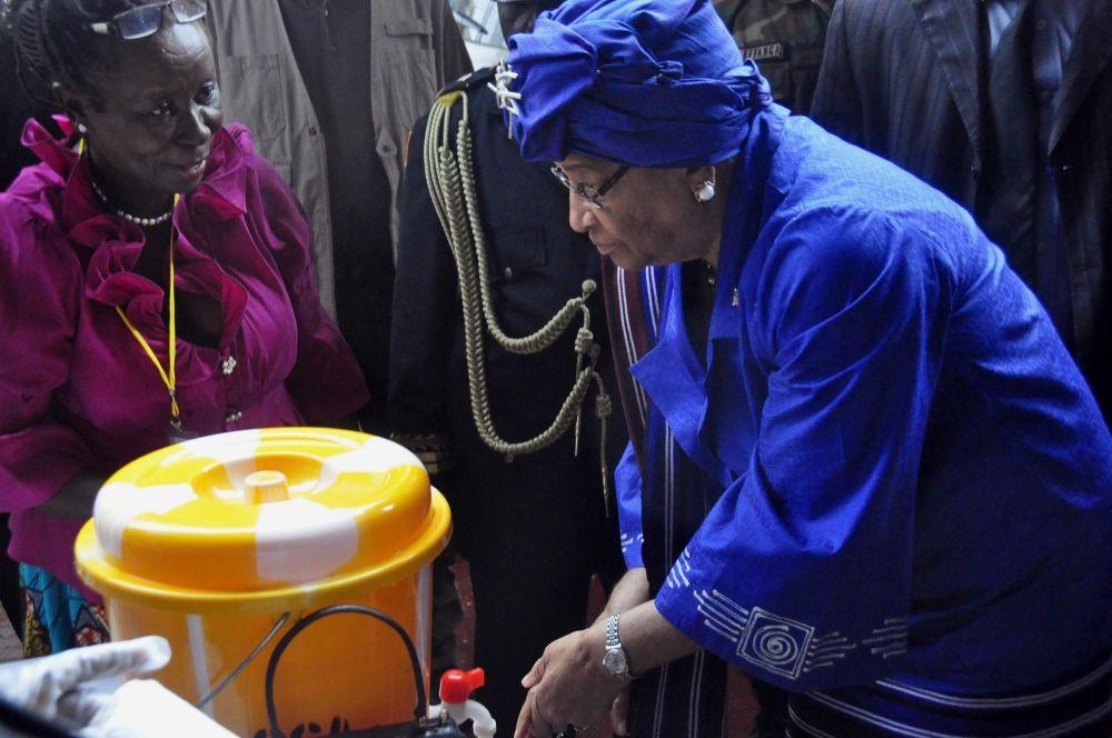 إلين جونسون سيرليف رئيسة ليبريا