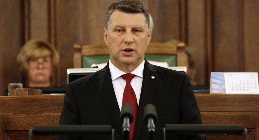 رئيس لاتفيا ريمون فيونيس