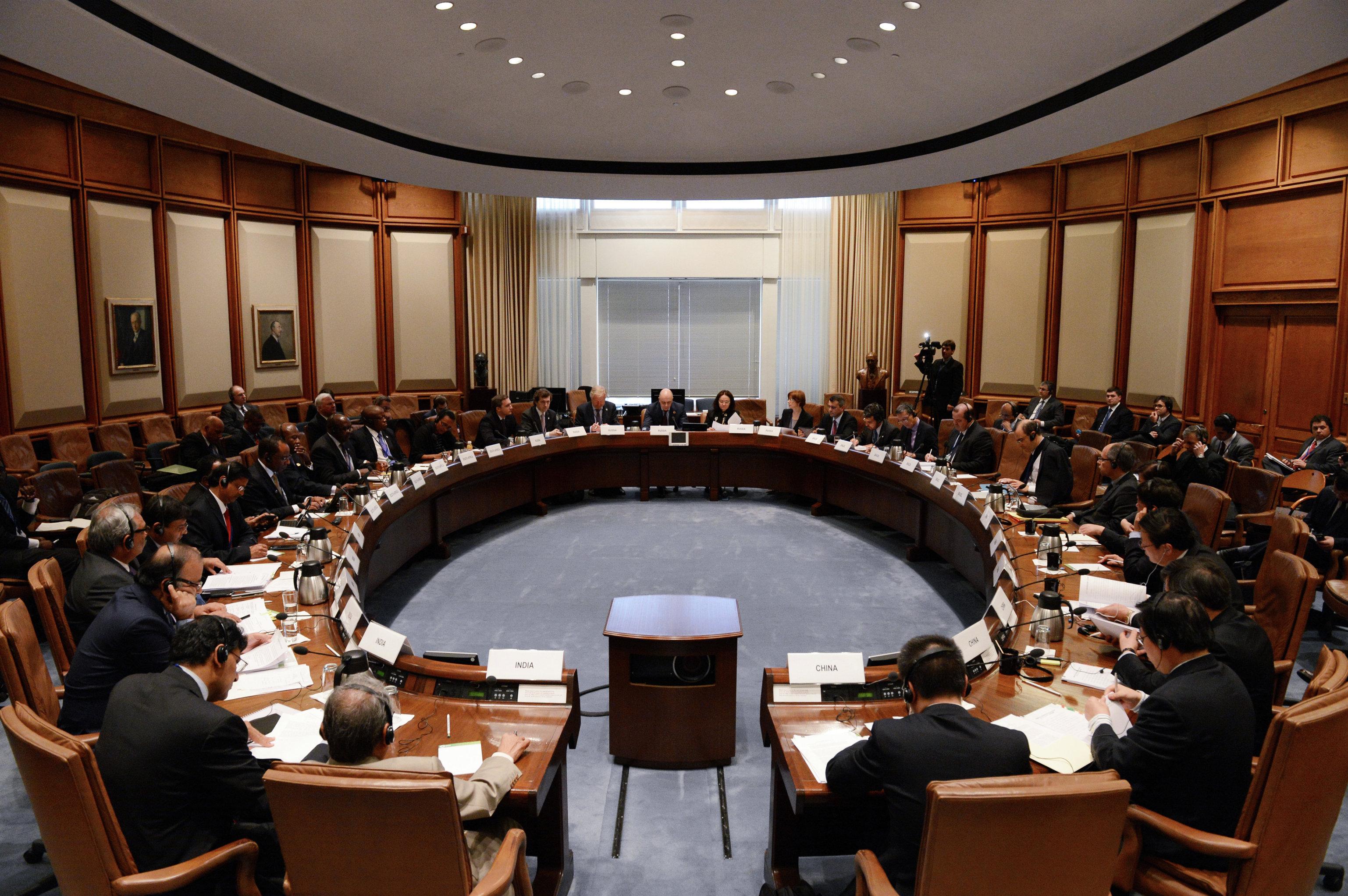 اجتماع وزراء مالية دول مجموعة بريكس ورؤساء البنوك المركزية