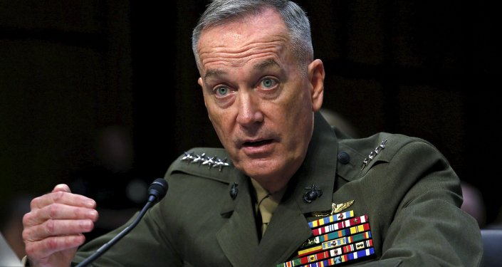 الجنرال بمشاة البحرية جوزيف دانفورد رئيساً لهيئة الأركان المشتركة