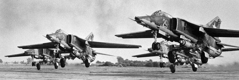 المقاتلات القاذفة من طراز ميغ 27