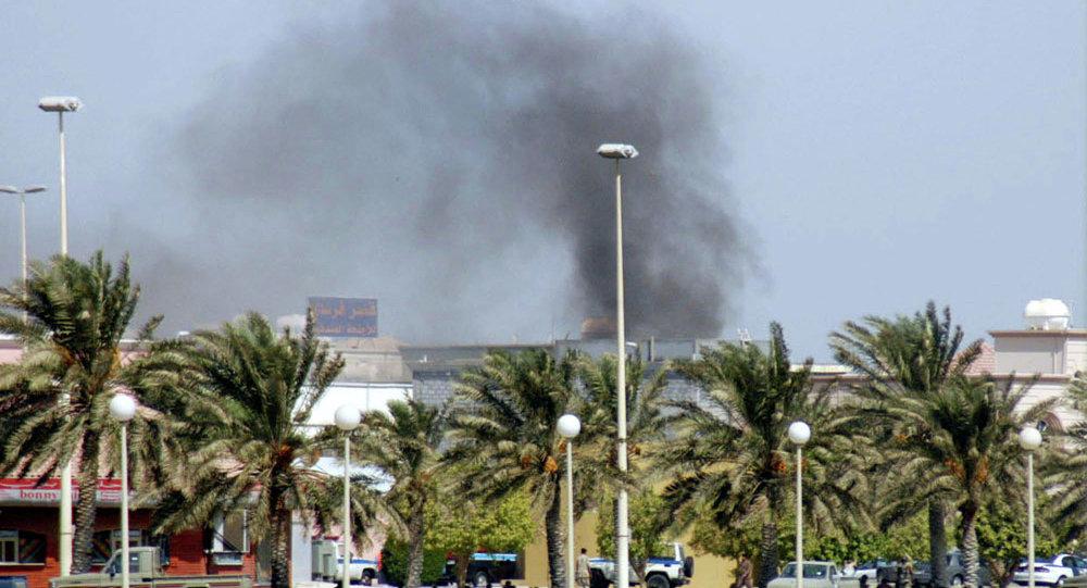 تفجير انتحاري في مسجد