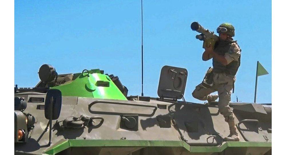 جندى مصرى يستخدم منظمة ايجلا الروسية