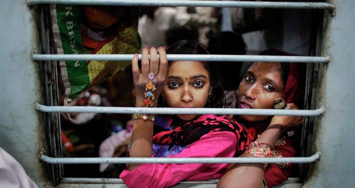 امرأة هندية