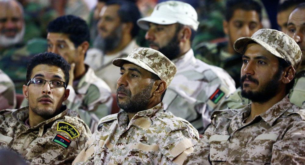 جنود الجيش الليبى