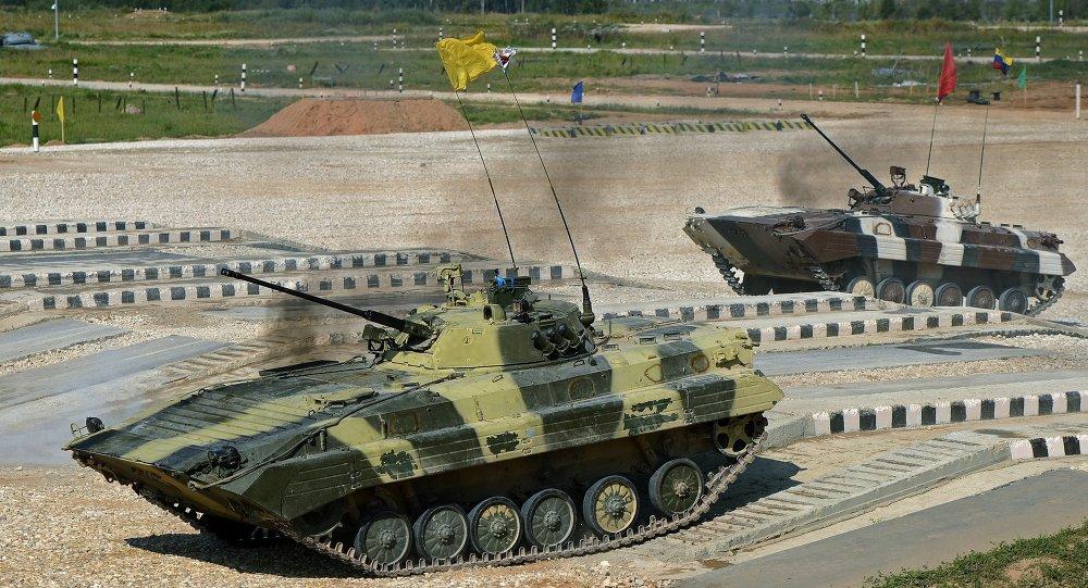 الألعاب العسكرية الدولية في روسيا