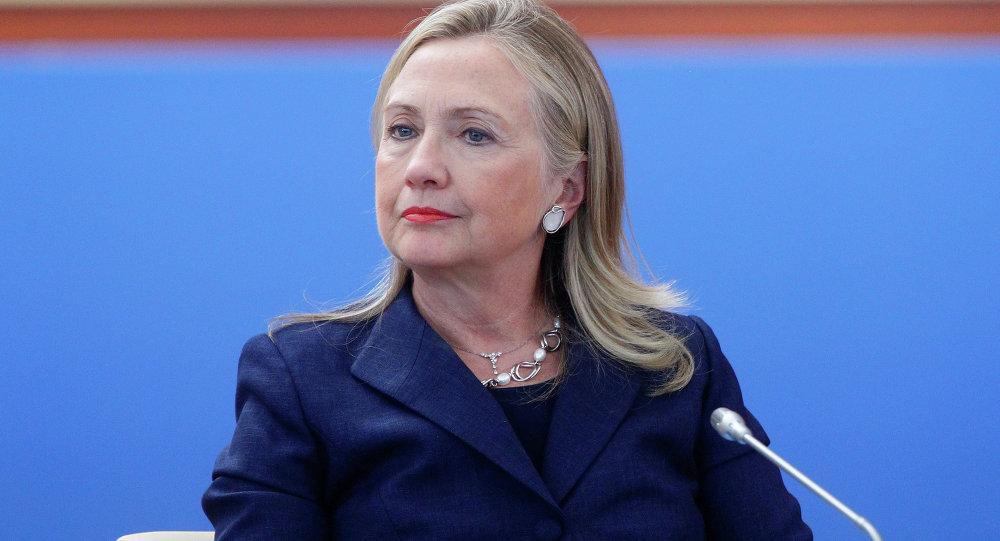 المرشحة لرئاسة الولايات المتحدة هيلاري كلينتون