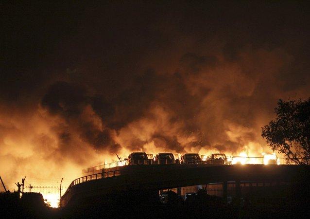 الصين.. ارتفاع عدد ضحايا انفجاري تيانغين إلى 44 قتيلا
