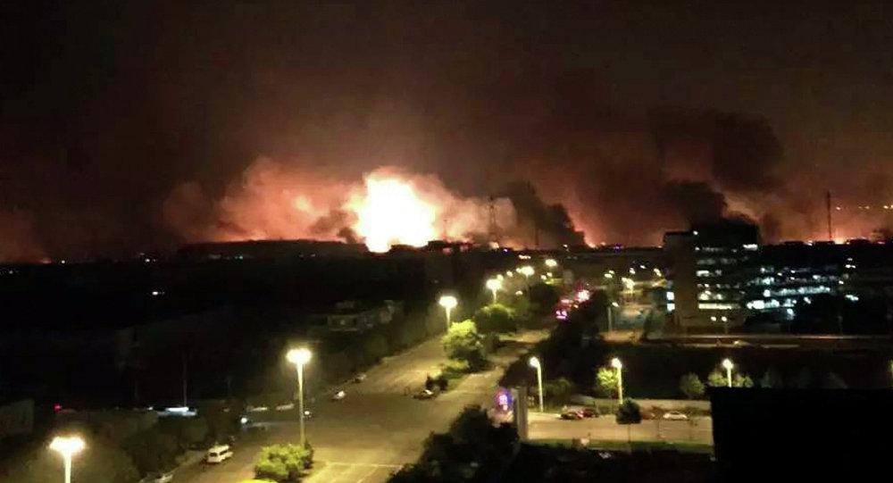حادث انفجاري ميناء تيانغين في الصين