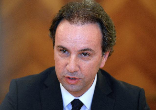 خالد حوجة رئيس الائتلاف الوطني لقوى الثورة والمعارضة السورية