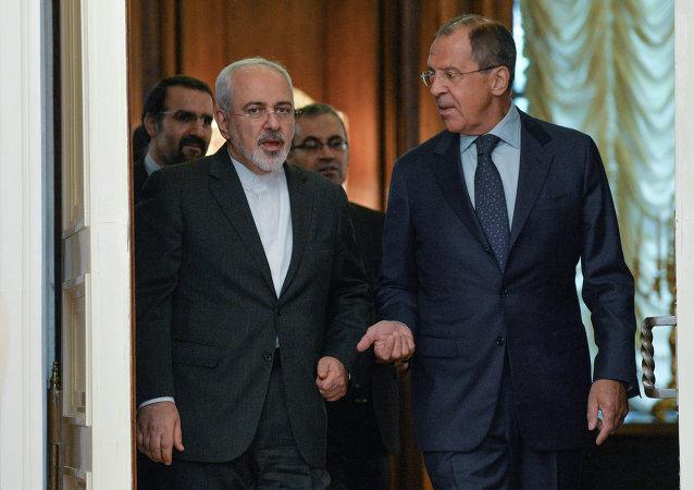 مباحثات وزيري خارجية روسيا وإيران