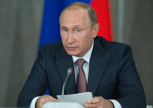 زيارة الرئيس الروسي فلاديمير بوتين إلى القرم