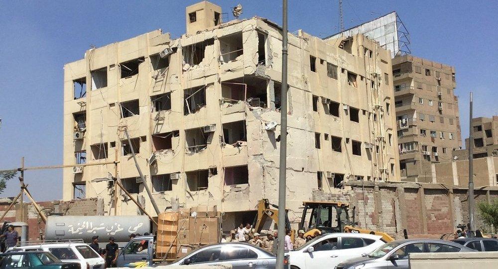 انفجار مقر الأمن الوطني ـ مصر