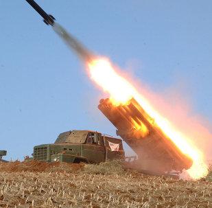 تبادل النيران بين كوريا الشمالية وجارتها الجنوبية