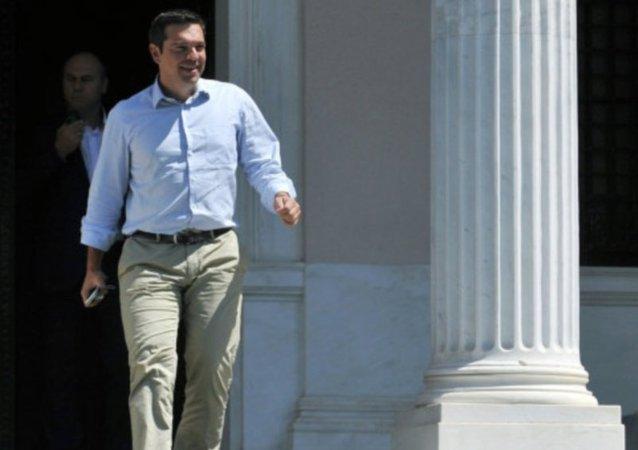 رئيس الوزراء اليوناني أليكسيس تسيبراس
